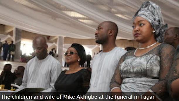 mike akhigbe's children