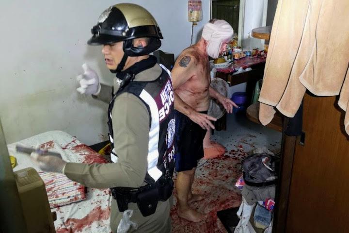 Британский экспат и его жена серьёзно пострадали в Паттайе во время драки с ножом — Thai Notes