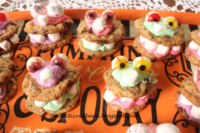 Eclectic Red Barn: Halloween Cookies