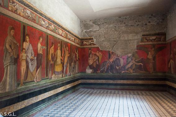 Villa de los Misterios Pompeya, las ruinas de la ciudad romana
