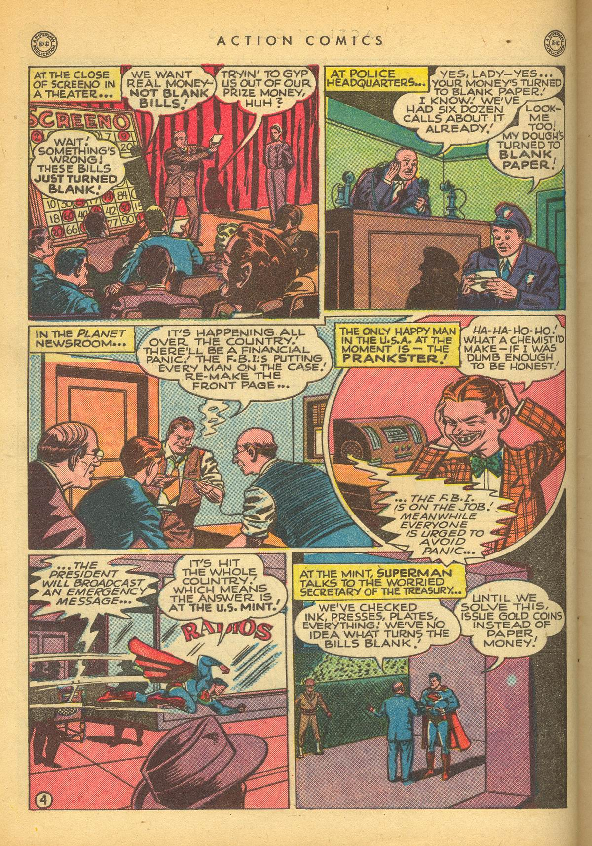 Read online Action Comics (1938) comic -  Issue #109 - 6