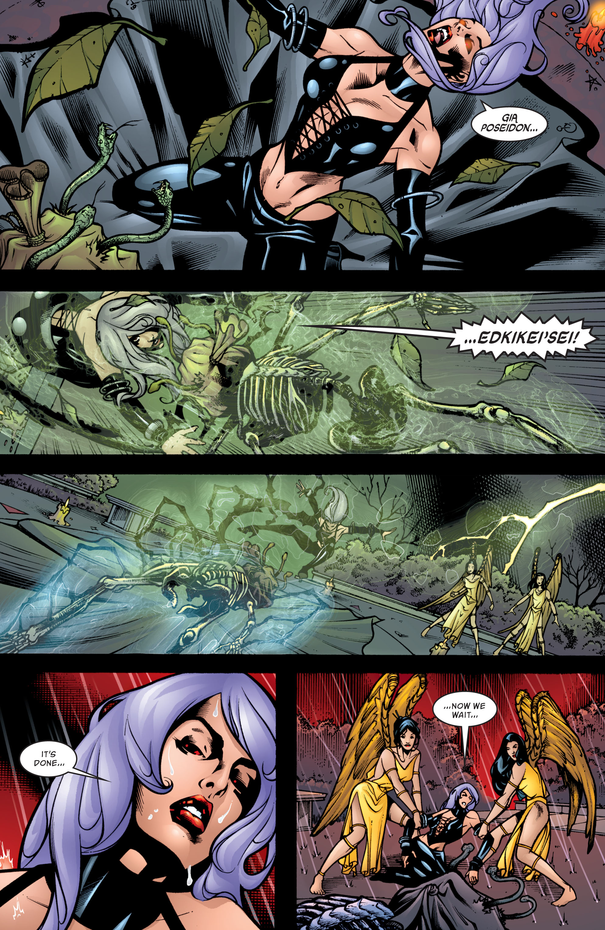 Read online Wonder Woman (1987) comic -  Issue #205 - 4