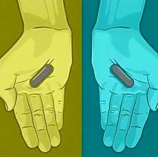 De que cor são essas pílulas?