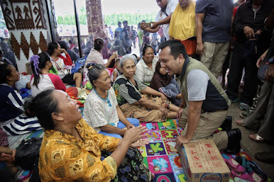 Gubernur Ridho Fasilitasi Warga Lampung Yang Mengungsi Di Kantor Gubernur Lampung