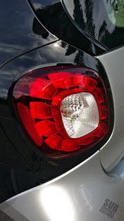 Smart Fortwo Passion taillight