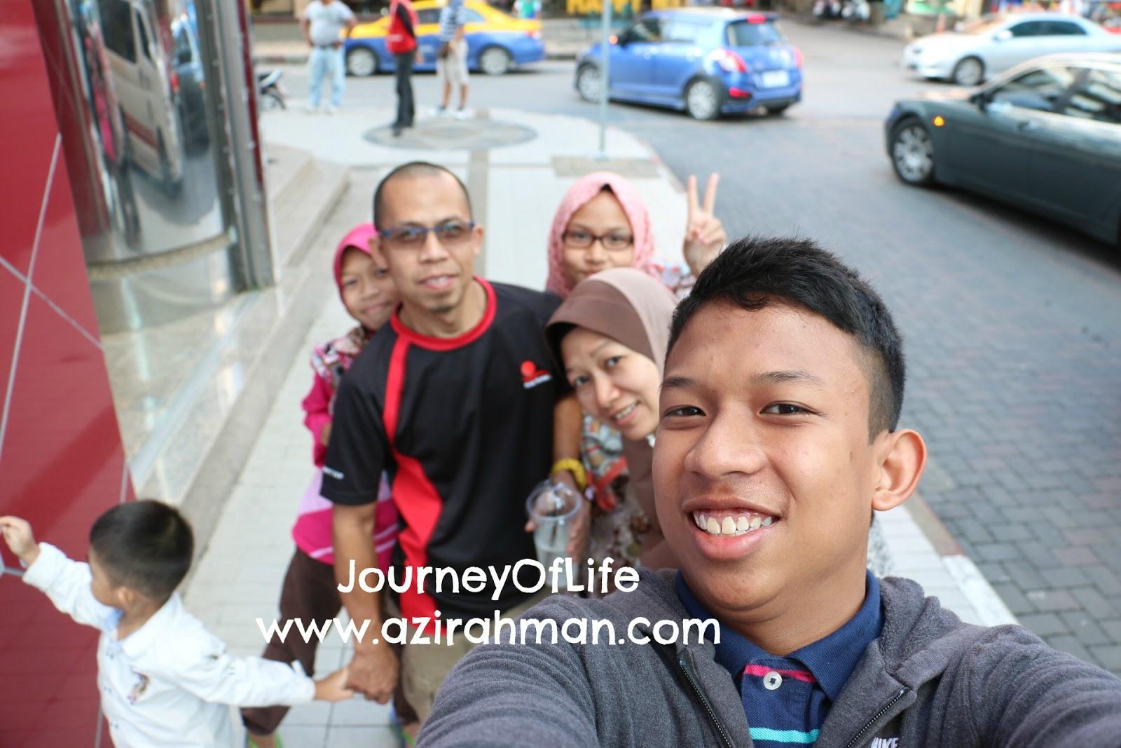 family bonding time , aktiviti bersama anak , masa bersama suami