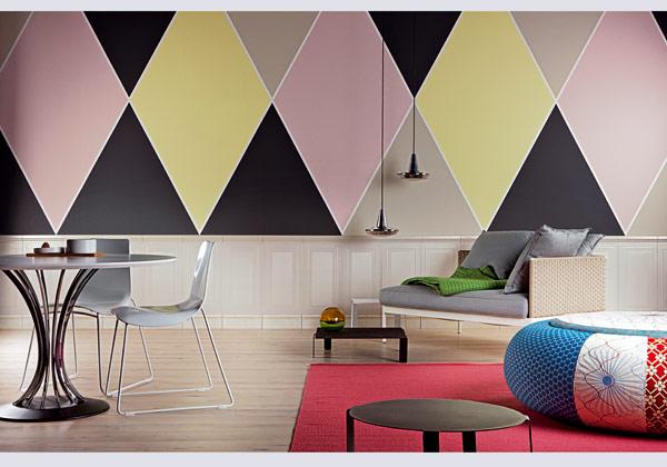 Pitturare pareti colorate for Pareti colorate immagini