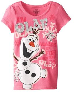 Best Frozen Gift Ideas: T-Shirts