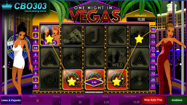 Agen Judi Online Sbobet--Panduan Dasar Bermain One Night In Vegas
