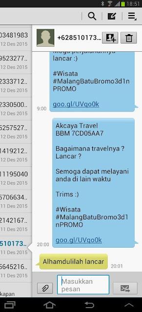 akcayatour, travel malang solo, travel solo malang