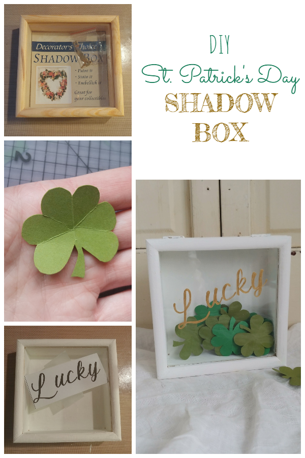 DIY St. Patrick's Day Shadow Box