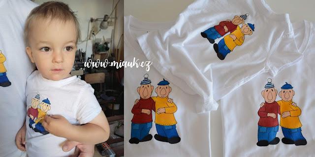 pat a mat tričko