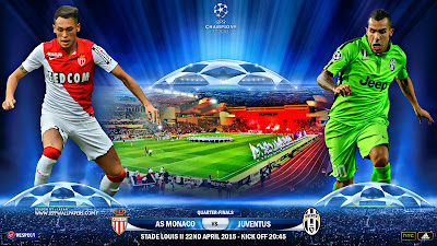Juventus FC vs  AS Monaco FC UEFA Champions League Egyptian League Omantel Professional League Bahraini VIVA League
