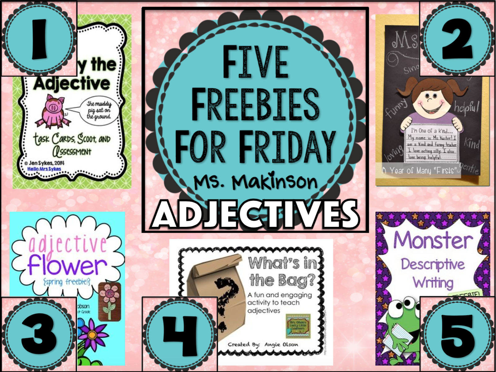 Ms Makinson Five Freebies For Friday
