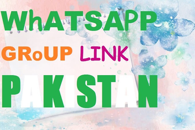 200 Best Join Whatsapp Group Link Pakistan 2019
