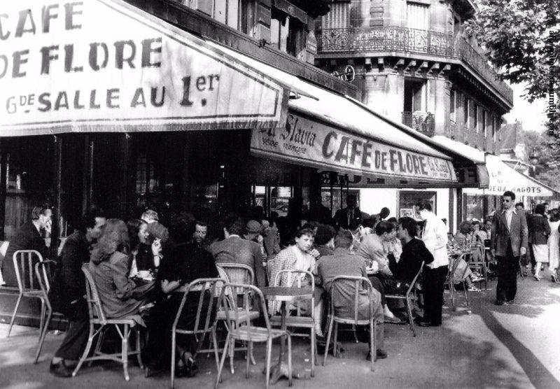 Cafe Flore Saint Germain Metro