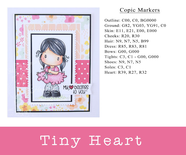Heather's Hobbie Haven - Tiny Heart Card Kit