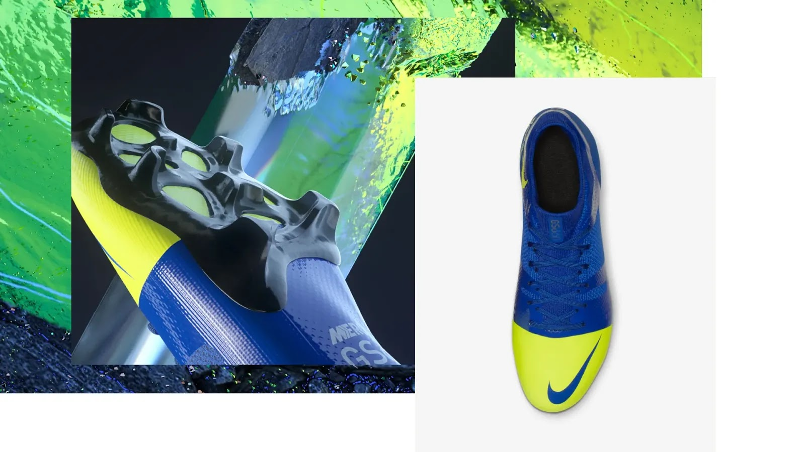 Blue / Volt Nike Mercurial GS 360 Limited-Edition iD Boots Showcased