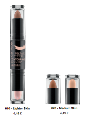 Catrice Prime and Fine Contouring Duo Sticks