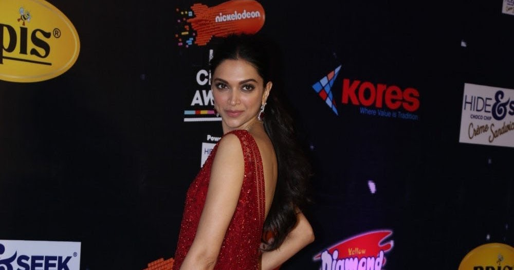 Actress Deepika Padukone Gorgeous Photoshoot In Red Dress ...