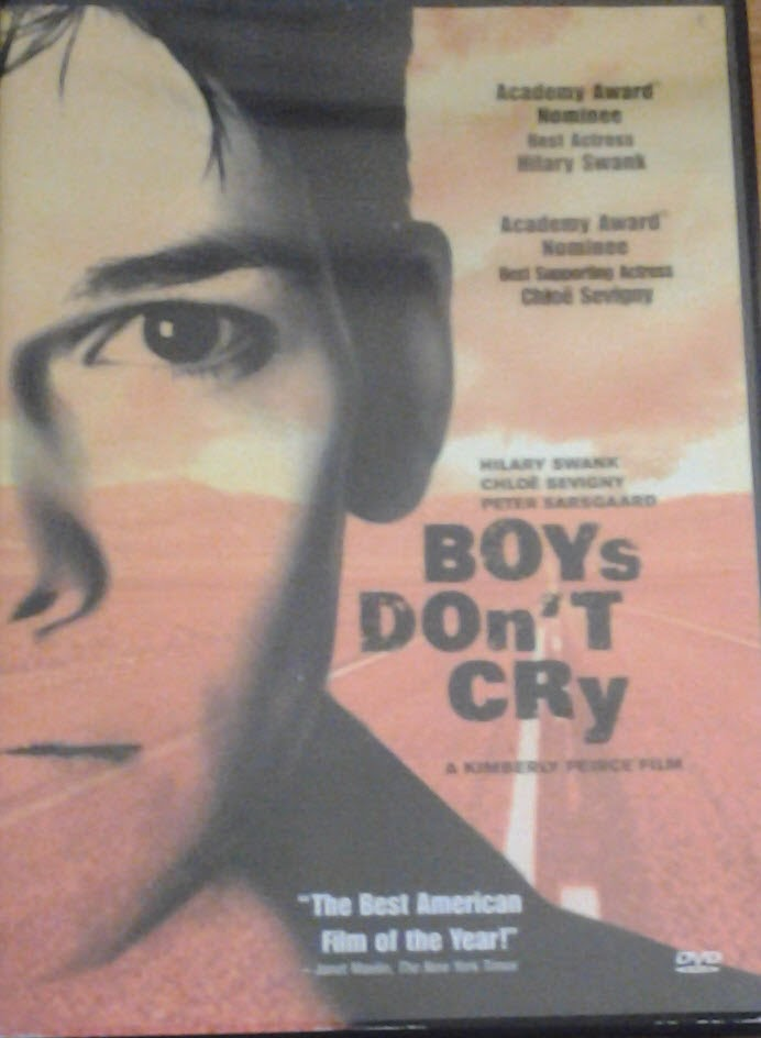 DVD Cover - Boys Don't Cry