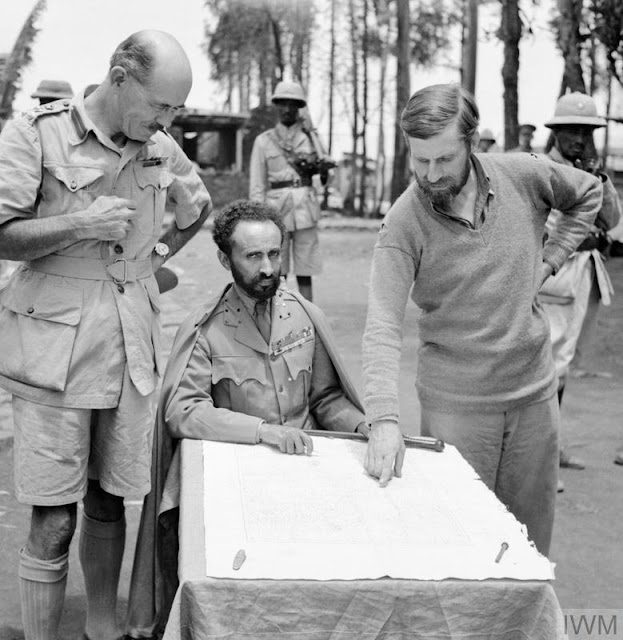 15 April 1941 worldwartwo.filminspector.com Haile Selassi Orde Wingate