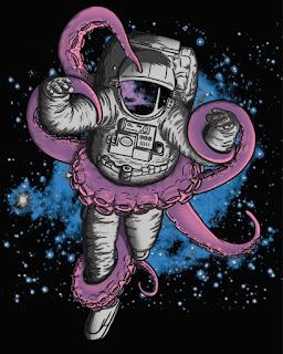 JCMaziu Anxiety, scifi horror astronaut