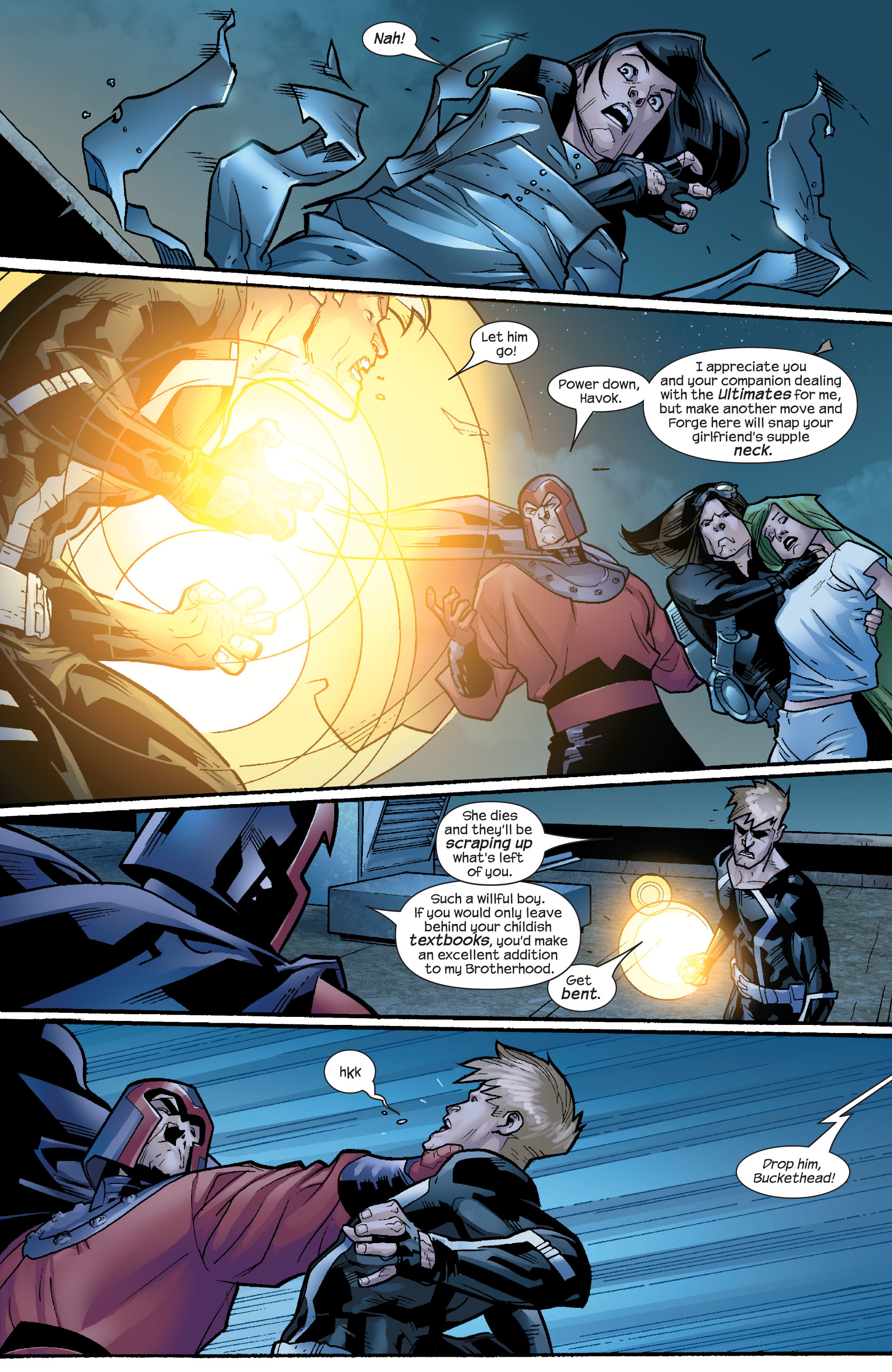Read online Ultimate X-Men comic -  Issue #65 - 8