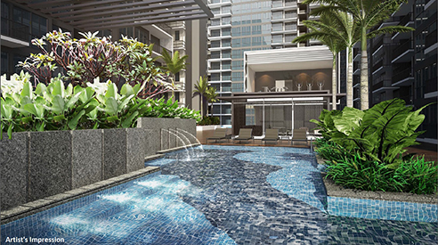Signature at Yishun - Hydrotherapy Alcove