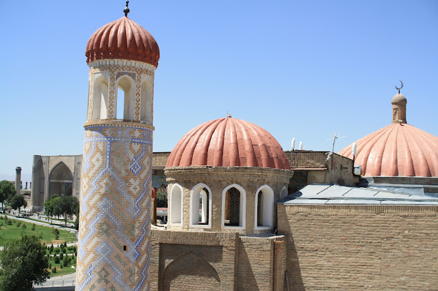 Ouzbékistan, Samarcande, Mosquée Khuja Khidr, Bibi Khanoum, © L. Gigout, 2010