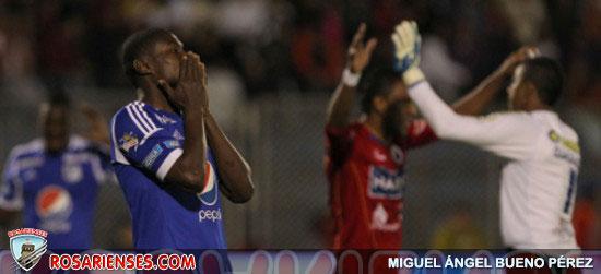 Millonarios perdió contra Pasto y sigue de último en el cuadrangular A | Rosarienses, Villa del Rosario