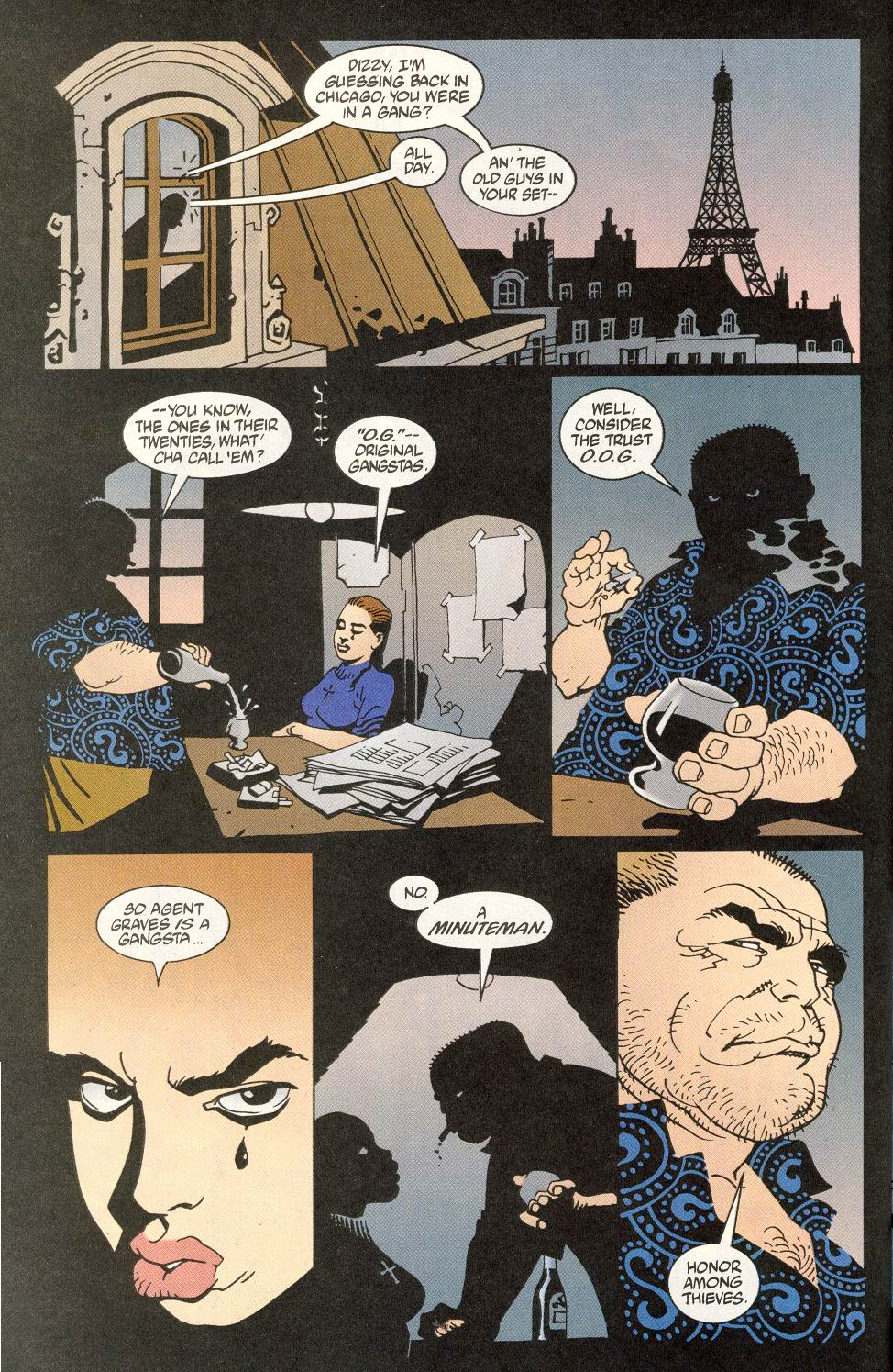 Read online 100 Bullets comic -  Issue #14 - 9