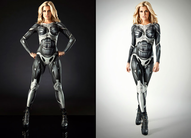 crysis nanosuit body paint costume