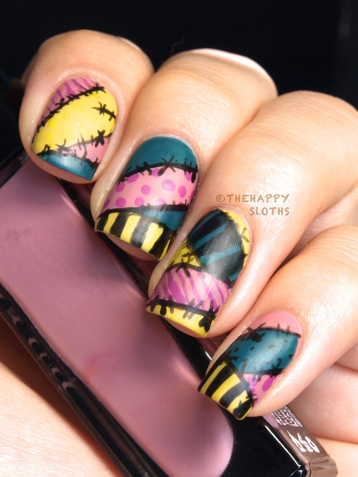 The Nightmare Before Christmas Sally Manicure: My Nail ...