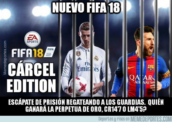 Nuevo FIFA 18 | Messi y Cristiano Cárcel Edition