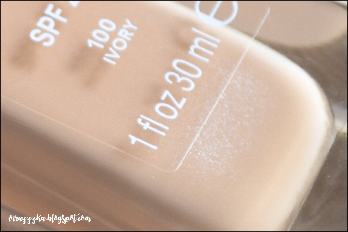 Rimmel Wake Me Up Foundation SPF 20 - 100 Ivory & 103 True Ivory | Review & Swatches