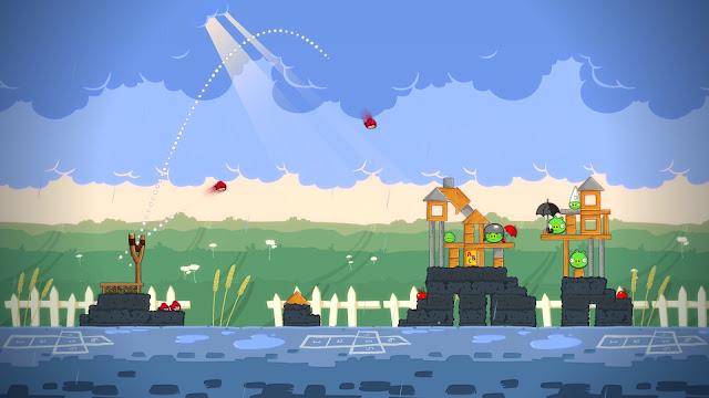 Angry Birds Trilogy - Xbox 360 Captura 1