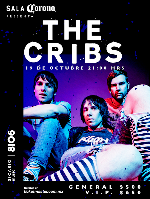 The Cribs en México
