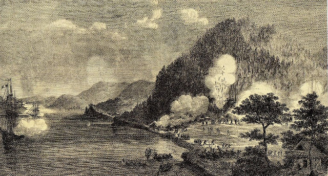 French warships Tancrede and Dupleix attacked Shimonoseki, 1863