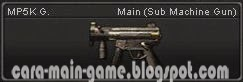 MP5K G. Senjata Point Blank PB Weapon