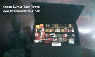 jualan jadul dalam museum kretek kudus