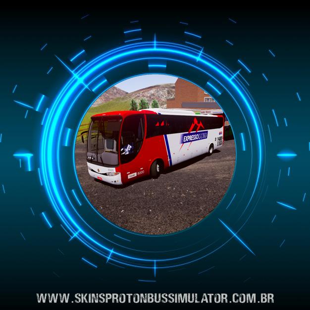 Skin Proton Bus Simulator - G6 1050 MB O-500R 4X2 Expresso Luxo