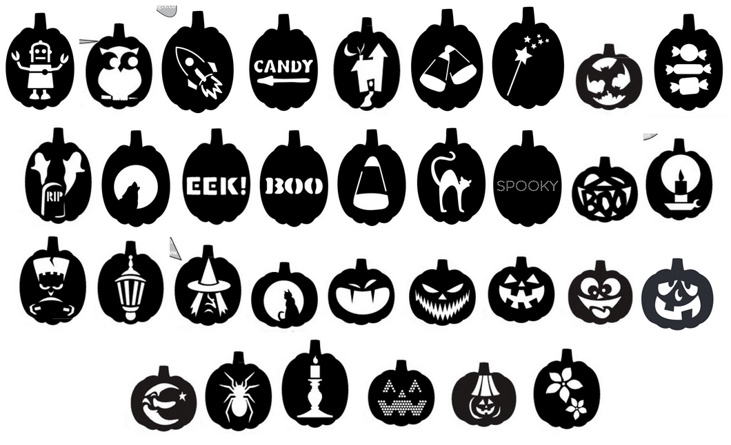 graphic about Free Printable Pumpkin Templates referred to as Internal Style: Free of charge Printable Pumpkin-Carving Templates