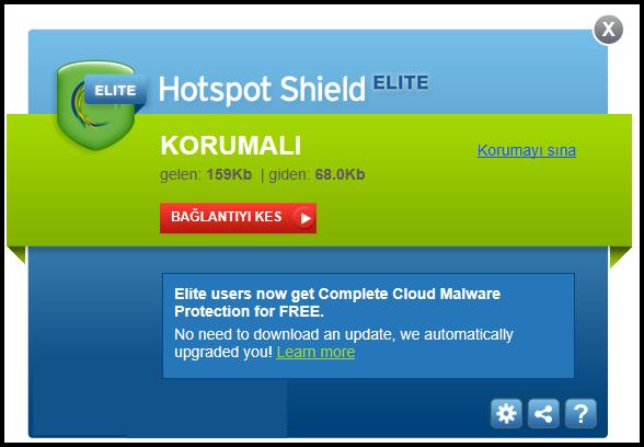 ücretsiz hotspot shield vpn indir
