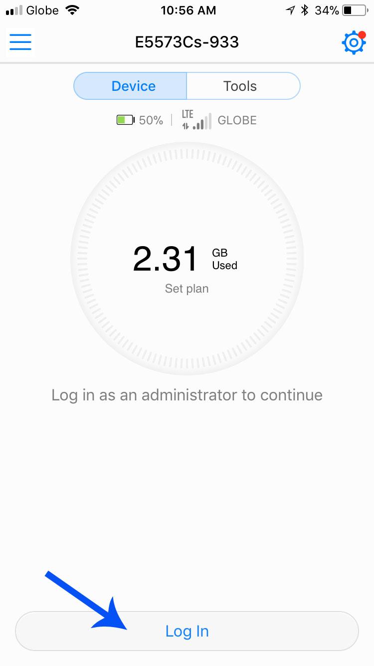 How to Change Globe LTE Pocket WiFi Huawei E5573Cs-933