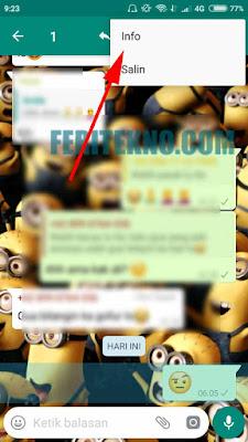Cara Mengetahui Siapa yang Membaca di Grup Whatsapp  Tutorial Mengetahui Siapa Saja yang Sudah Membaca Pesan Kita di Grup WhatsApp