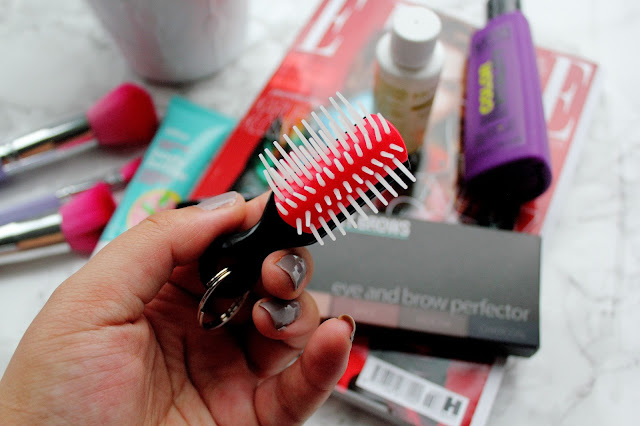 Denman Mini Keyring Brush Review