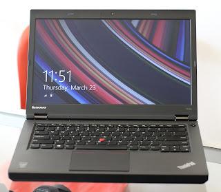 Laptop Core i7 Lenovo ThinkPad T440P Bekas
