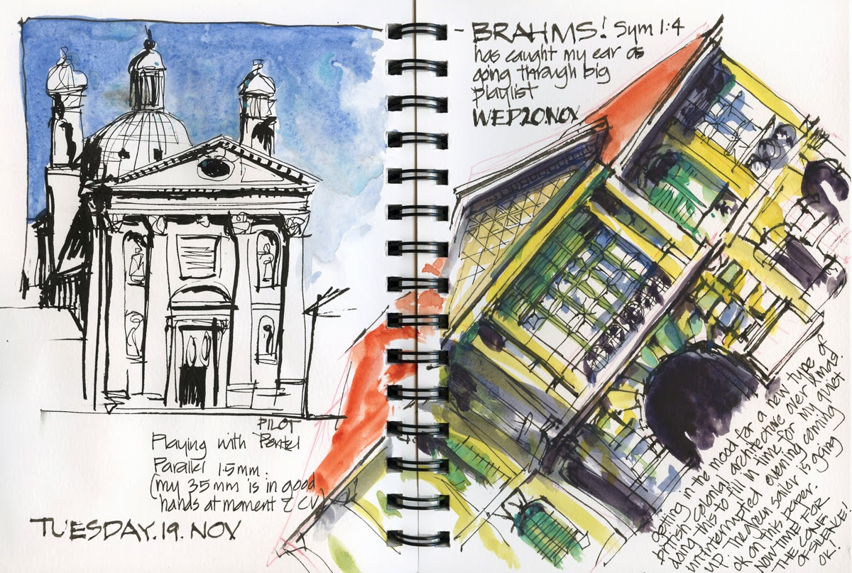 Architecture Relaxation Sketching To Brahms