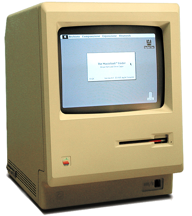 Macintosh 128K, a Hero of Day